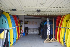 alquiler material surf