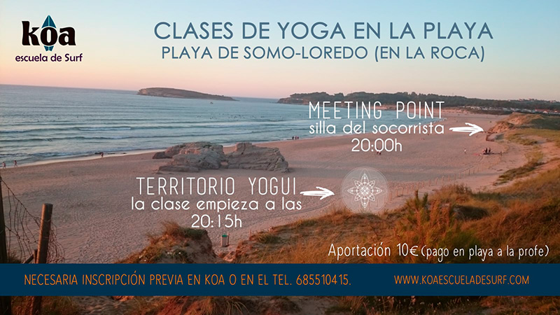 meeting point yoga en Somo